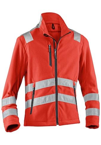 Kübler Arbeitsjacke »Reflectiq«, Warnschutz Klasse 2, Fleecejacke, atmungsaktiv kaufen