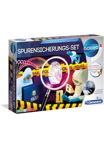 Clementoni® Experimentierkasten »Galileo - Spurensicherungs-Set«, Made in Europe kaufen