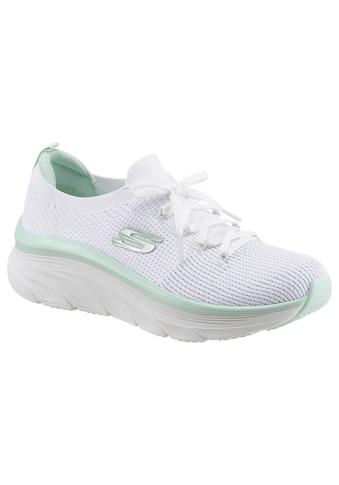 Skechers Slip-On Sneaker »D'LUX WALKER REFRESHING MOOD«, mit aufgesetzter Schnürung kaufen
