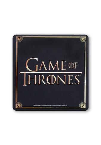 LOGOSHIRT Untersetzer mit Game of Thrones-Motiv kaufen