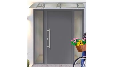 KM Zaun Haustür »A01«, BxH: 98x208 cm, anthrazit, in 2 Varianten kaufen