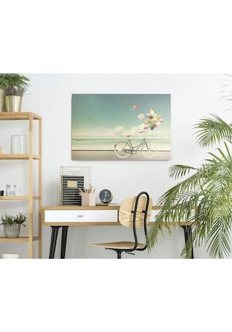 Reinders! Holzbild »Deco Panel 60x90 Balloon Bike« kaufen
