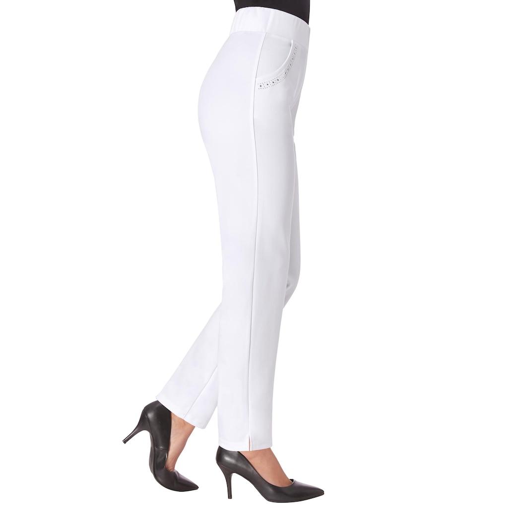 Lady Jersey-Hose mit Rundum-Dehnbund