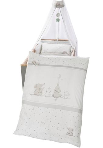 roba® Himmelbettgarnitur »Sternenzauber«, 4-tlg., mit Bettwäsche, Nestchen und Himmel kaufen