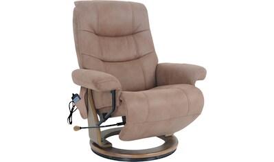 Alpha Techno Relaxsessel »AT 2127«, High End 6-Punkt Schwingungsfrequenz Massage, Intensität individuell einstellbar kaufen