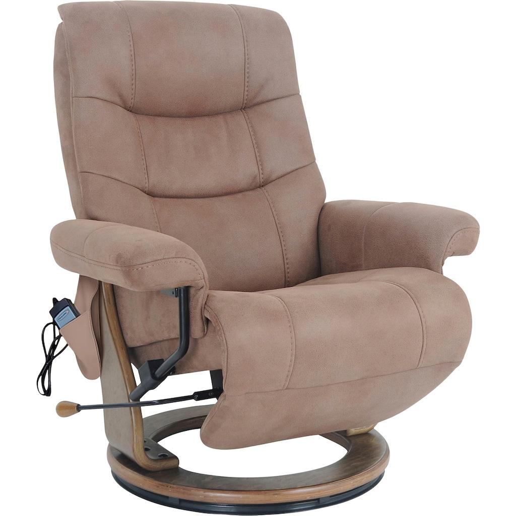 Alpha Techno Relaxsessel »AT 2127«, High End 6-Punkt Schwingungsfrequenz Massage, Intensität individuell einstellbar