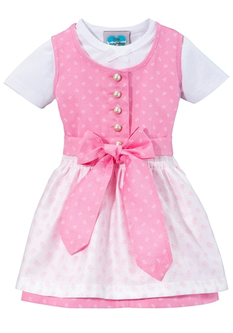 Turi Landhaus Dirndl, (3 tlg.), Baby, mit Jerseyshirt kaufen