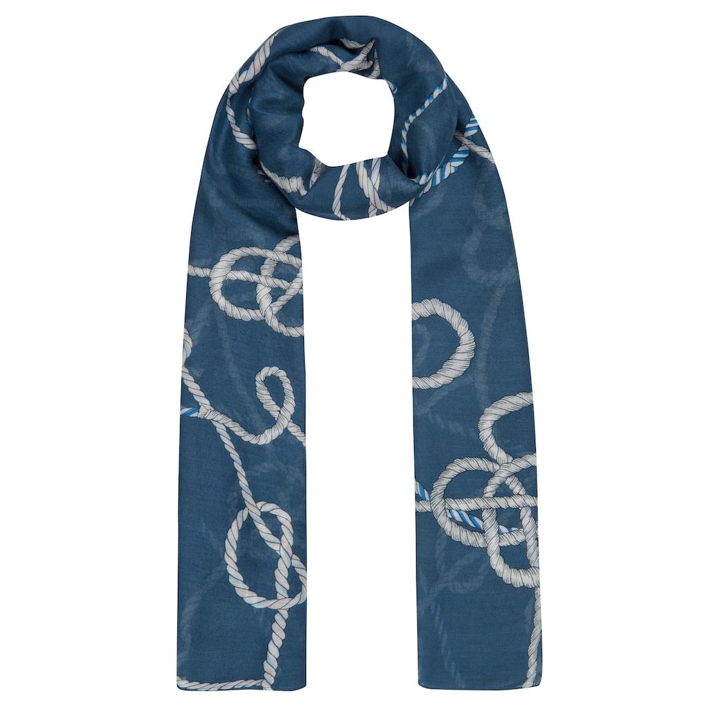 Codello Maritimer XL-Schal aus luftiger Viskose