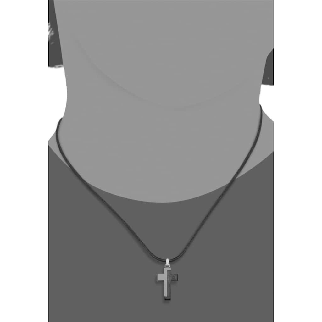 s.Oliver Junior Kette mit Anhänger »Kreuz, 2027451«