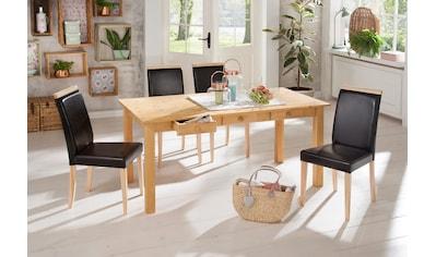Home affaire Essgruppe, aus Kiefernholz kaufen