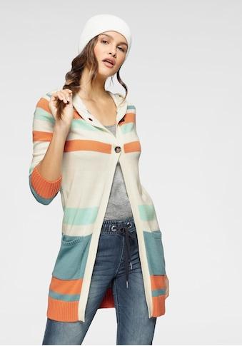 KangaROOS Kapuzenstrickjacke, im aktuellen Streifen-Design kaufen
