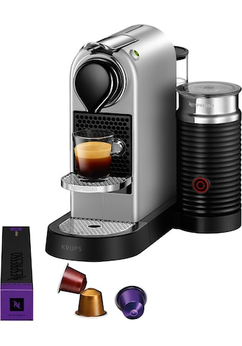 Nespresso Kapselmaschine »XN761B New CitiZ & milk«, mit Aeroccino Milchaufschäumer, 19... kaufen
