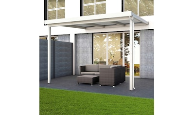 GUTTA Terrassendach »Premium«, BxT: 309x306 cm, Dach Polycarbonat Opal kaufen