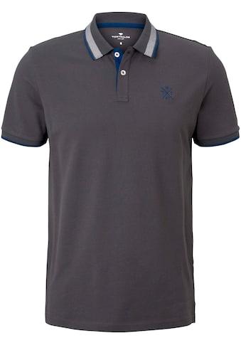 TOM TAILOR Poloshirt, hochwertige Piquéqualität kaufen