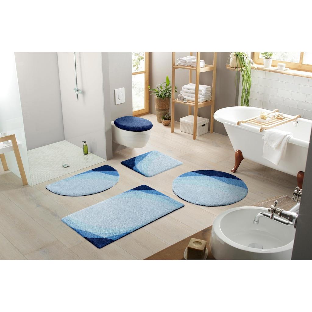 Home affaire Badematte »Benka«, Höhe 15 mm, strapazierfähig, Farbverlauf