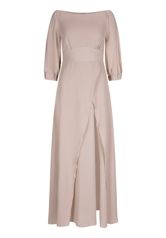 Nicowa Off-Shoulder-Kleid »GABINO«, mit unifarbenem Stoff - GABINO kaufen