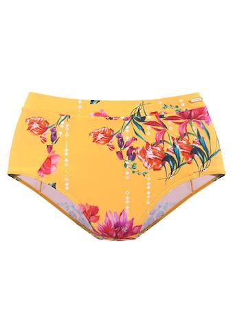 Sunseeker Highwaist-Bikini-Hose »Modern«, mit floralem Design kaufen