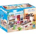 Playmobil® Konstruktions-Spielset »Große Familienküche (9269), City Life«, Made in Germany
