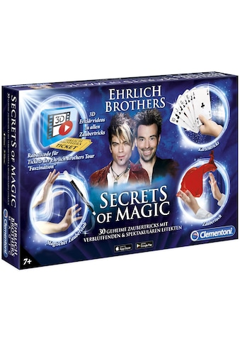 Clementoni® Zauberkasten »Ehrlich Brothers: Secrets of Magic«, Made in Europe kaufen