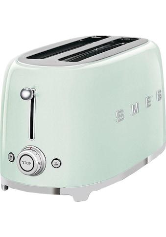 Smeg Toaster »TSF02PGEU«, 2 lange Schlitze, für 2 Scheiben, 1500 W kaufen