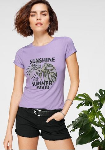 Tamaris T-Shirt, mit Frontprint - NEUE KOLLEKTION kaufen