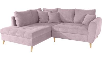 andas Ecksofa »Blackburn Luxus«, mit besonders hochwertiger Polsterung für bis zu 140 kg Belastbarkeit kaufen