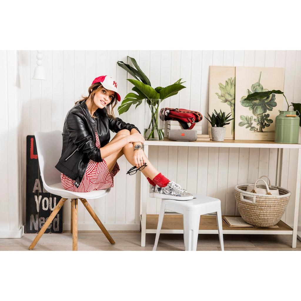 Aniston SELECTED Jerseykleid, mit Graphik-Print