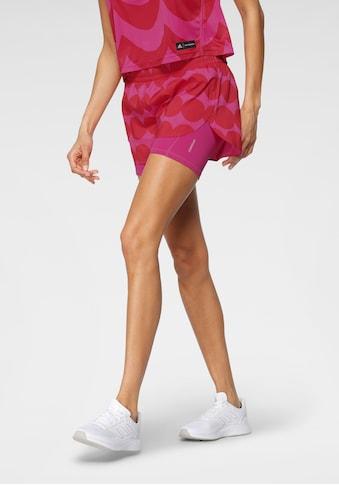 adidas Performance Laufshorts »ADIDAS x MARIMEKKO 2IN1 SHORT WOMEN« kaufen