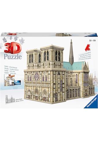 Ravensburger 3D-Puzzle »Notre Dame de Paris«, Made in Europe, FSC® - schützt Wald - weltweit kaufen