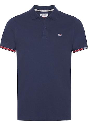 TOMMY JEANS Poloshirt »TJM DETAIL RIB POLO« kaufen