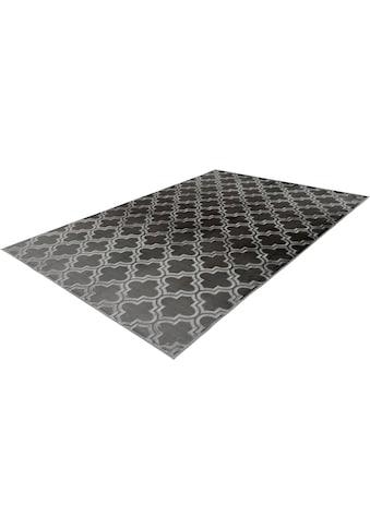 calo-deluxe Teppich »Latemar 200«, rechteckig, 7 mm Höhe, Hoch- Tief Struktur, Wohnzimmer kaufen
