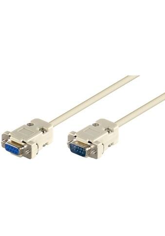 Goobay D-SUB 9 pin Verlängerungskabel kaufen
