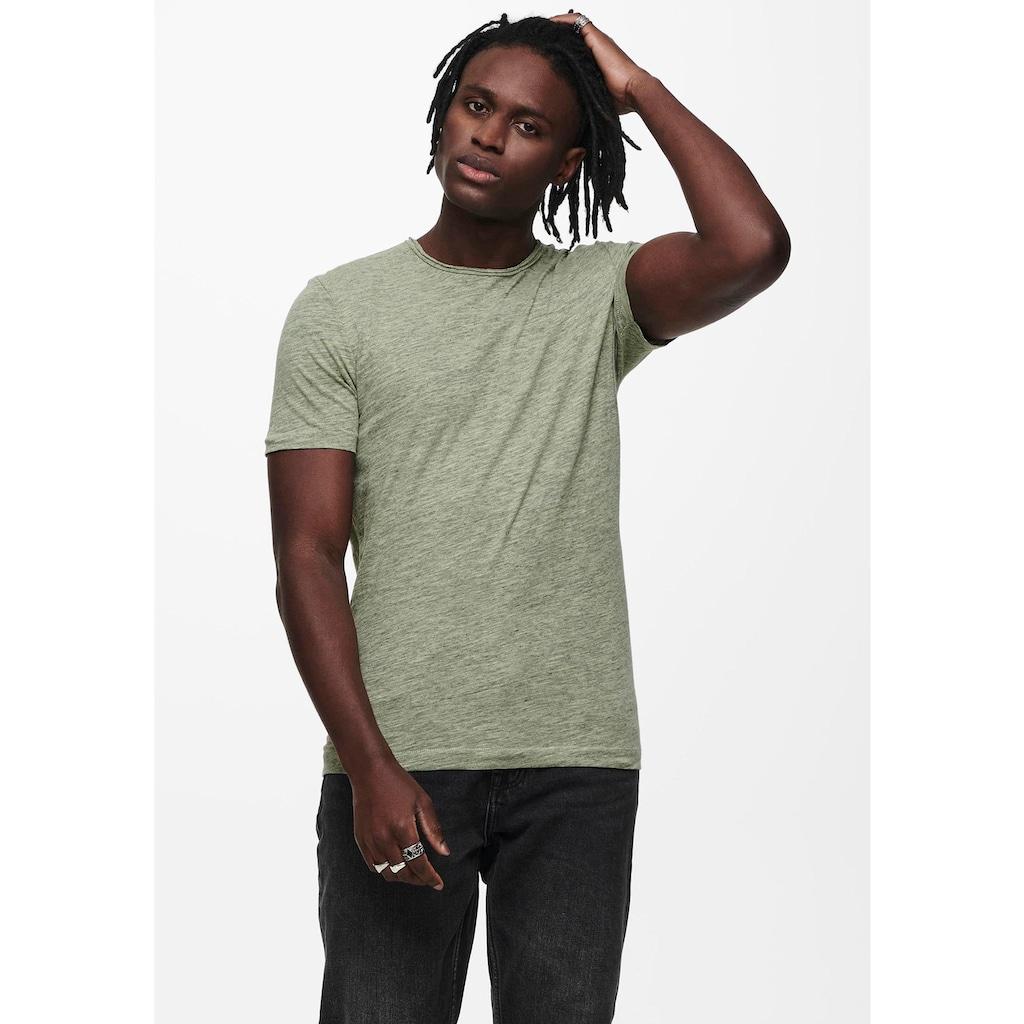 ONLY & SONS T-Shirt »ALBERT LIFE NEW TEE«