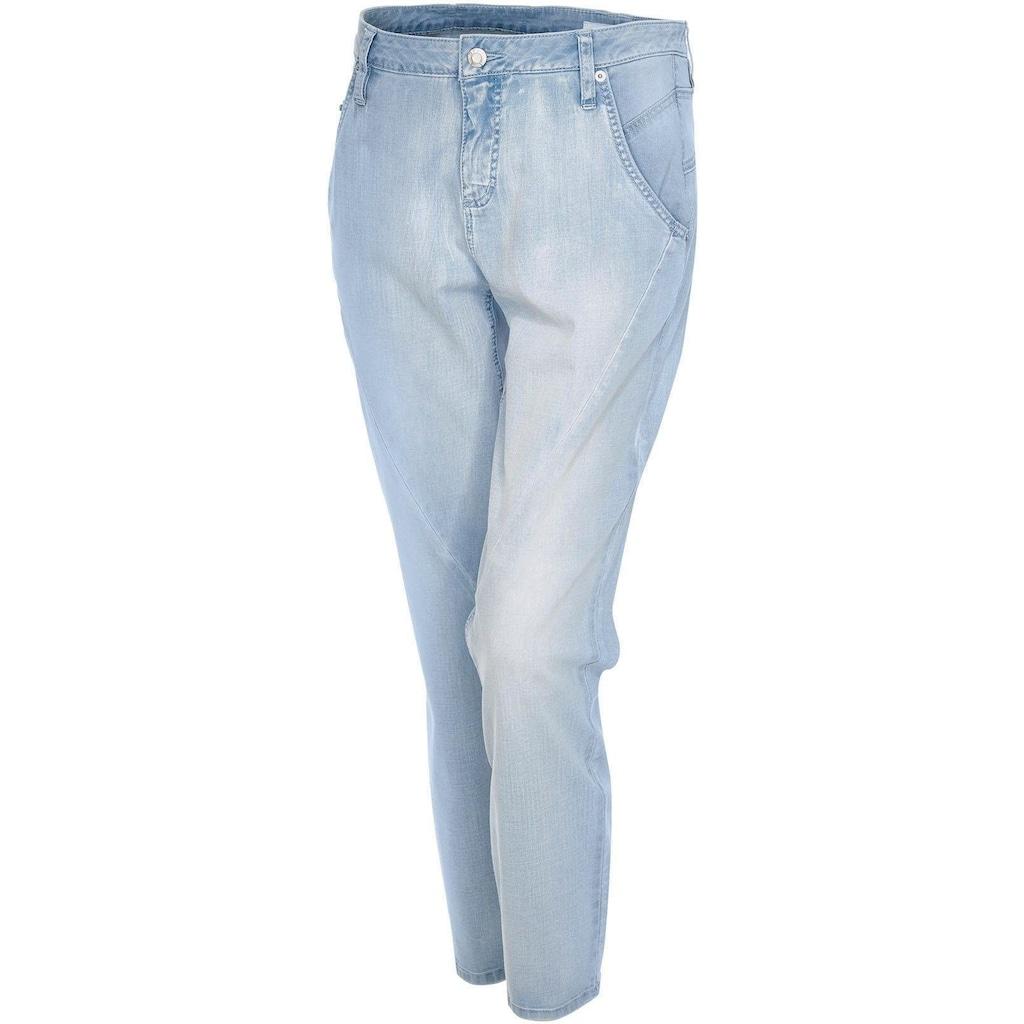 OPUS Boyfriend-Jeans »Letty«, mit markanten Ziernähten