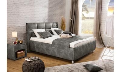 ADA trendline Polsterbett »Nadine«, wahlweise mit Matratze und Lattenrost, in verschiedenen Größen und Härtegraden kaufen