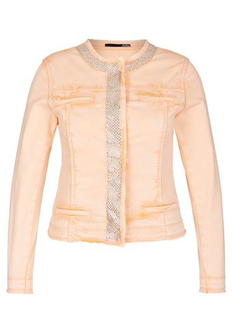 LeComte Jacke mit Rollsäumen und Ziersteinen kaufen