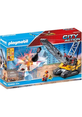 Playmobil® Konstruktions-Spielset »Seilbagger mit Bauteil (70442), City Action«, ; Made in Germany kaufen