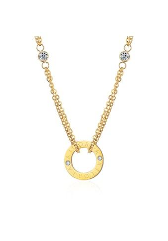 AILORIA Kette mit Anhänger »APOLLINE Halskette Gold«, Hochglanz-Finish kaufen