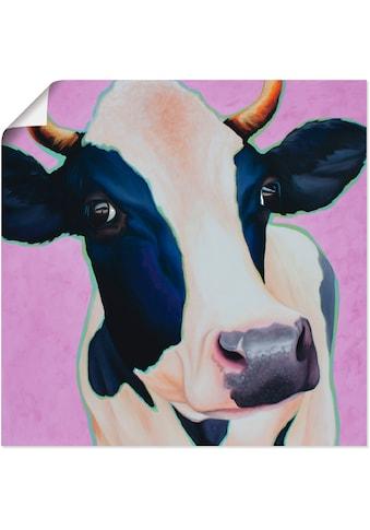 Artland Wandbild »Kuh Josefine«, Haustiere, (1 St.), in vielen Größen & Produktarten... kaufen