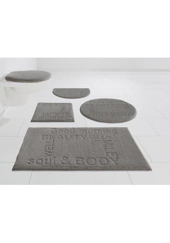 GRUND exklusiv Badematte »Feel Well«, Höhe 22 mm, rutschhemmend beschichtet, fußbodenheizungsgeeignet kaufen