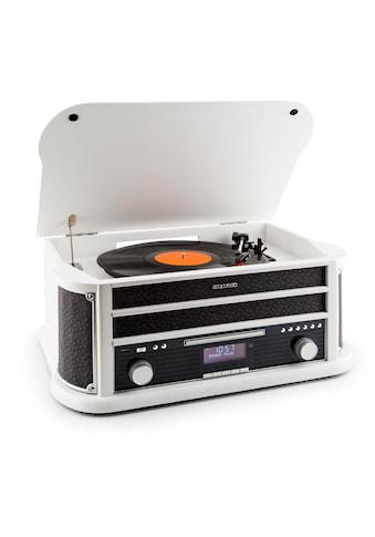 Auna DAB Retro Stereoanlage Plattenspieler DAB USC CD MP3 Vinyl kaufen
