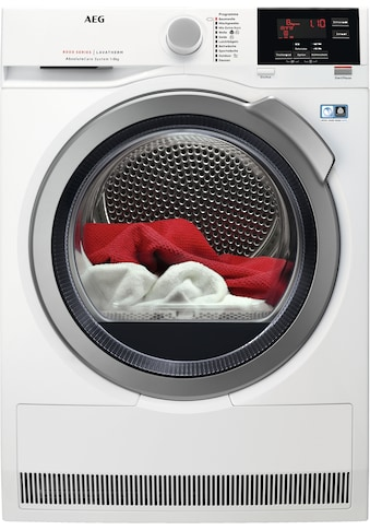 AEG Wärmepumpentrockner »LAVATHERM T8DBA3«, 8000 LAVATHERM, AbsoluteCare für Wolle,... kaufen