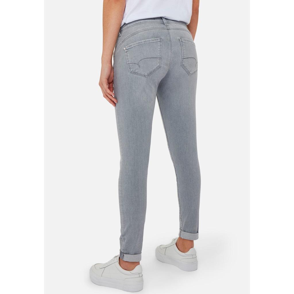 Mavi Skinny-fit-Jeans »LEXY-MA«, mit leichten Destroyed-Effekten