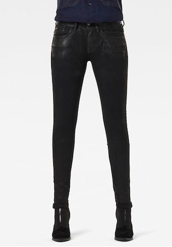G-Star RAW Skinny-fit-Jeans »Lynn Mid Waist Skinny Jeans«, aus weicher Denimqualität mit Stretch kaufen