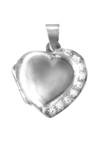 Vivance Kettenanhänger »925/- Sterling Silber Herz«, Medaillon kaufen