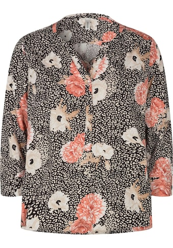 soyaconcept 3/4-Arm-Shirt »SC-FELICITY302«, mit Blüten Muster kaufen