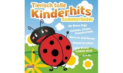 Musik-CD »Tierisch Tolle Kinderhits-Sommerlieder / Kinderliederbande« kaufen