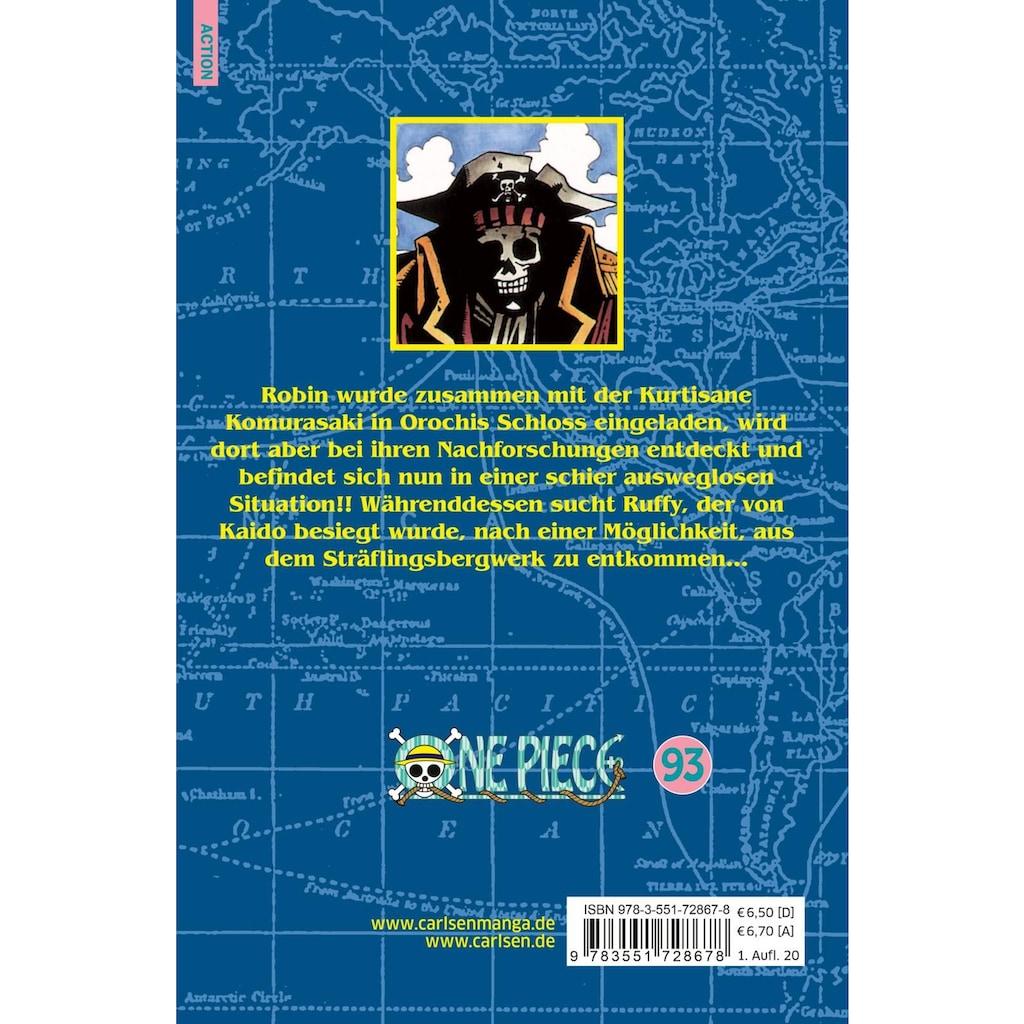 Buch »One Piece 93 / Eiichiro Oda, Antje Bockel«