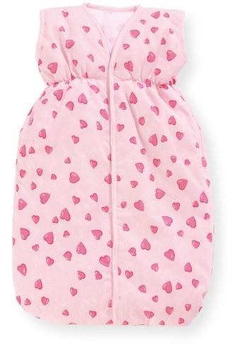 """Pinolino® Puppen Schlafsack """"Herzchen, rosa"""" kaufen"""