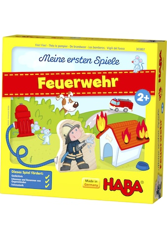 Haba Spiel »Meine ersten Spiele - Feuerwehr«, Made in Germany kaufen